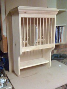 Handmade Solid Pine Plate Rack (Available In 2 Different Finishes)PR03 | eBay  £59.99 + delivery