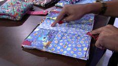 Mulher.com 30/01/2015 Néia Rocha - Estojo escolar patchwork