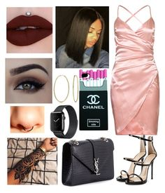 """""""Untitled #396"""" by lexi124 ❤ liked on Polyvore featuring Giuseppe Zanotti, Bling Jewelry, Mon Cheri and Yves Saint Laurent"""