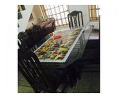 Dining Table With Six Chairs For Sale In Good Amount Rawalpindi