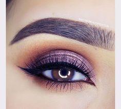 gorgeous purple smokey eye ~ we ❤ this! moncheribridals.com