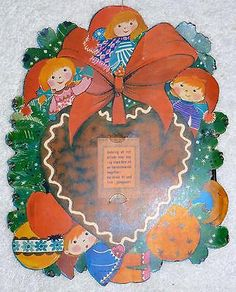 1970s vintage reuseable #danish scandinavian #christmas advent #calender retro d5,  View more on the LINK: http://www.zeppy.io/product/gb/2/371446581078/
