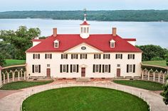 """Mount Vernon, George Washington's Virginia home, manages to be both supremely elegant and surprisingly low-key."" - Gil Schafer"