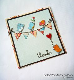 Fancy Pants Birds on a Wire by scrappycanuck - Cards and Paper Crafts at Splitcoaststampers