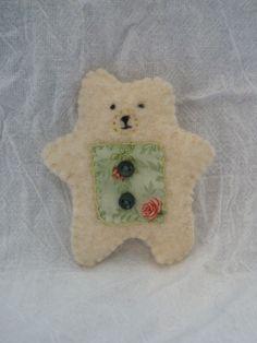 Felted Polar Bear!