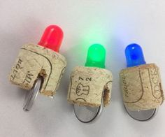 LED Cork Light Ok this is pretty cool. The possibilities are endless!
