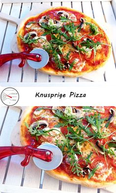 Matschiger #Pizzateig? Wässriger Belag? Wer kennt das nicht?  #Pizzarezepte gibt es nun wirklich mehr als genug, also warum noch eines? Ganz einfach: Weil Erfahrungen wie Boden ist nicht knusprig, Belag ist matschig oder #Pizza ist nicht gebräunt sicher jeder kennt.  Mit diesem Rezept wird deine Pizza garantiert besser!