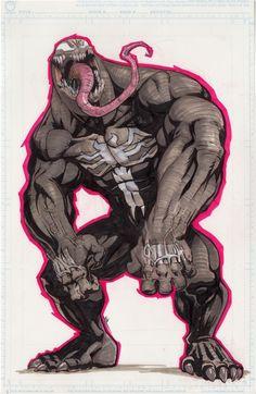 Venom by Joe Vriens Comic Art