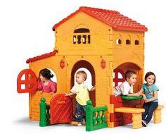 Casita grande Villa Feber, 1,80 altura. Feber 800008590, IndalChess.com Tienda de juguetes online y juegos de jardin