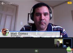 Google Hangout Resources for Teachers   mattBgomez