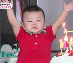 """Watch: Daebak From """"The Return of Superman"""" Being Absolutely Adorable Cute Kids, Cute Babies, Superman Kids, Asian Babies, November 17, Video Clip, Baby Pictures, Comedians, Dramas"""