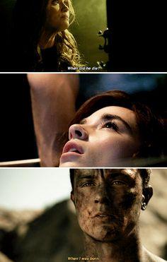 """#TeenWolf #5x17 #ACredibleThreat // when Scott, Stiles and Allison """"died"""" in order to locate the Nemeton"""