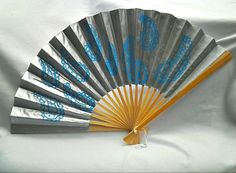 Hand painted paper fans Pick one Custom made fans by beccasboudoir