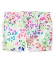 Kids' Neon Leopard Shorty Shorts PS From Aéropostale