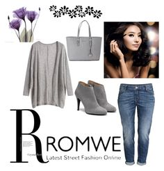 """""""Romwe"""" by zeki-zex ❤ liked on Polyvore featuring H&M, Michael Kors, women's clothing, women, female, woman, misses, juniors and romwe"""