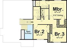 Split-Level Home with Open Floor Plan - 62542DJ floor plan - 2nd Floor