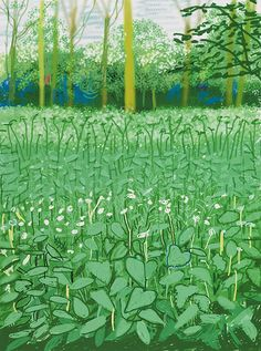 The Arrival of Spring in Woldgate, East Yorkshire - David Hockney