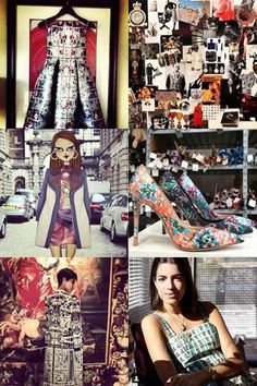 Mary Katrantzou on why social media is important for any designer