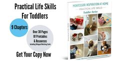 What do you get when four Montessori moms from different countries come together to compile their first hand Montessori practical life experiences into a book? Home Learning, Learning Resources, Parenting Workshop, Montessori Practical Life, Step Cards, Matching Cards, Toddler Books, Life Inspiration, Life Skills