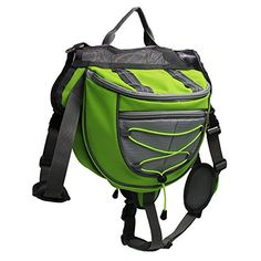 Outdoor dog Backpack  and can be adjustable. Backpack is recommended for Outdoor Hiking, Camping ,Training, Travelling  and etc. ** Read more  at the image link.