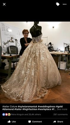 Our dress in the making!