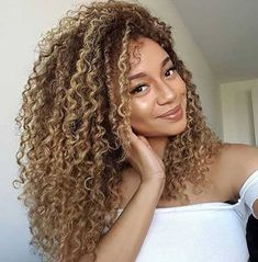15+ Thick Curly Long Hair Ideas for Women