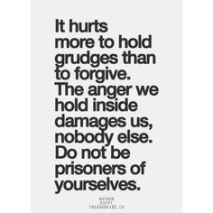 BS.... people expect the victim to forgive which isn't right. .. Someone should pay for what they did to you