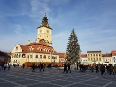 Piata Sfatului, Brasov Visit Romania, Bosnia, Macedonia, Montenegro, Places To See, The Good Place, Tours, Building, Pictures