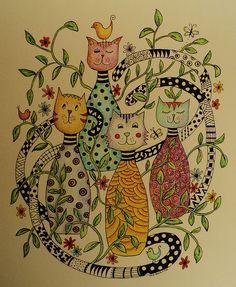 Cat doodles! Madeleine de Kemp MakeArtBeHappy Member since 2011