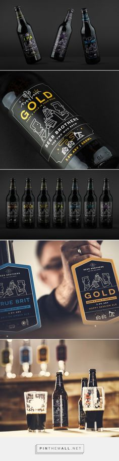 Beer Brothers packaging / design by BramCreates