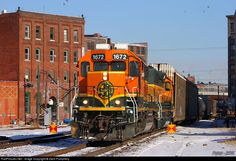RailPictures.Net Photo: BNSF 1672 BNSF Railway EMD SD40-2 at Kansas City, Missouri by Zach Pumphery