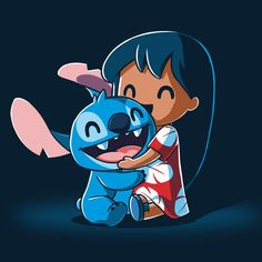 Disney Drawing BFFs (Lilo and Stitch) T-Shirt Disney TeeTurtle - Get the blue official Disney character t-shirt only at TeeTurtle Exclusive graphic designs on super soft cotton tees Lilo And Stitch Shirt, Lilo Et Stitch, Lilo And Stitch Drawings, Disney Drawings, Cartoon Drawings, Cute Drawings, Kawaii Disney, Chibi Disney, Cute Disney Wallpaper