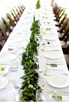 Best Wedding Table Runners