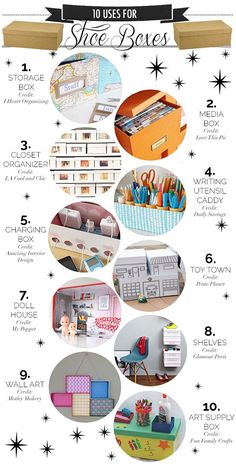 10 Ways to Recycle Shoe Boxes | Blog | HGTV Canada