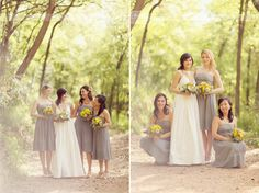 gray and yellow wedding - Google Search