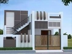 new Ideas building stairs architecture beautiful House Outside Design, House Front Design, Small House Design, Stairs Architecture, Residential Architecture, Architecture Design, 2bhk House Plan, Single Floor House Design, House Elevation
