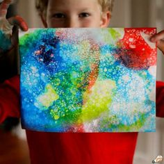 trendy messy art projects for kids science experiments Crafts For Boys, Projects For Kids, Art Projects, Ice Painting, Bubble Painting, Steam Activities, Craft Activities For Kids, Dry Ice Experiments, Science For Toddlers