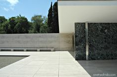 Padiglione Mies Van der Rohe - Barcellona