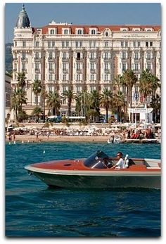 Cannes, on the French Riviera, in front of the InterContinental Carlton hotel. Photo by Todd Eberle.