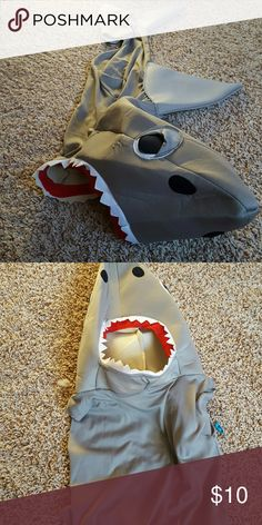 Selling this Shark Costume on Poshmark! My username is: srbrock. #shopmycloset #poshmark #fashion #shopping #style #forsale #Other