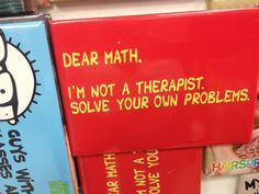 Math humor, funny