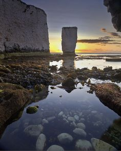 Old Harry Rocks Dorset by peterspencer49, via Flickr