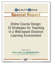 https://www.createonlineacademy.com/ Good online course design begins with a clear understanding of learning outcomes and ways to engage students, while creating activities that allow students to take some control of their learning.