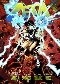 copertina realizzata per la casa editrice cilena Mitomano Comics
