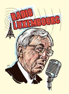 Jean-Claude Juncker/kresba Pavel Reisenauer Luxembourg, Fictional Characters, Fantasy Characters