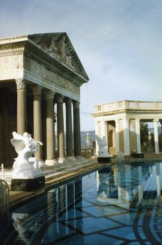 Hearst Castle, San Simeon, California. Amazing to go on all the tours. They are separate ones for different areas. The drive up is awesome. You can see why not to drink and drive!