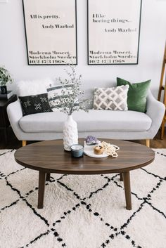 how to stye a coffee table