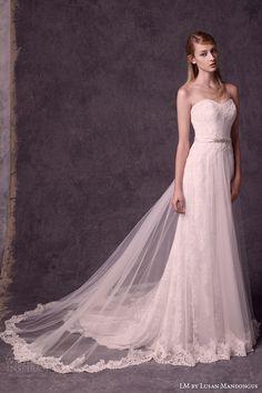 LM by Lusan Mandongus 2015 #Wedding Dresses | Wedding Inspirasi  #bridal #weddings #weddingdress #weddinggown