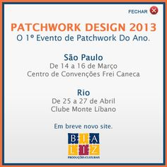 Sao Paulo Patchwork Design 2013