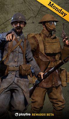There's still 6 days left to earn rewards when playing Verdun! https://www.playfire.com/a/rewards